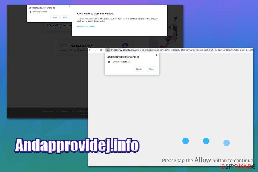 Andapprovidej.info redirect