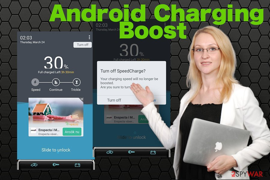 Android Charging Boost ads