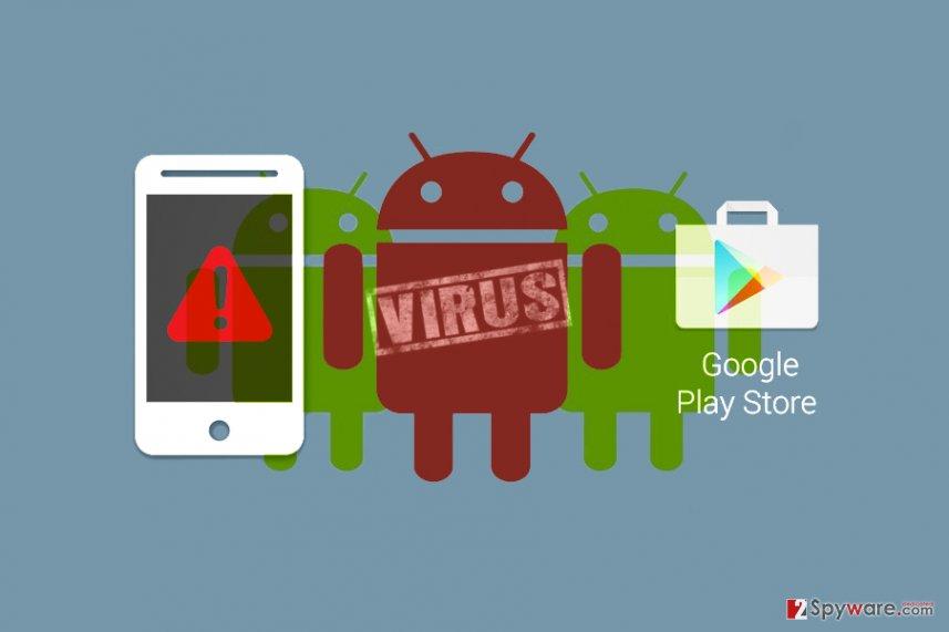 HummingWhale virus on Google Play Store
