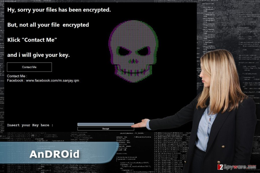 AnDROid ransomware virus