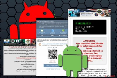 Android virus examples