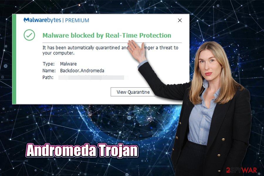 Andromeda Trojan