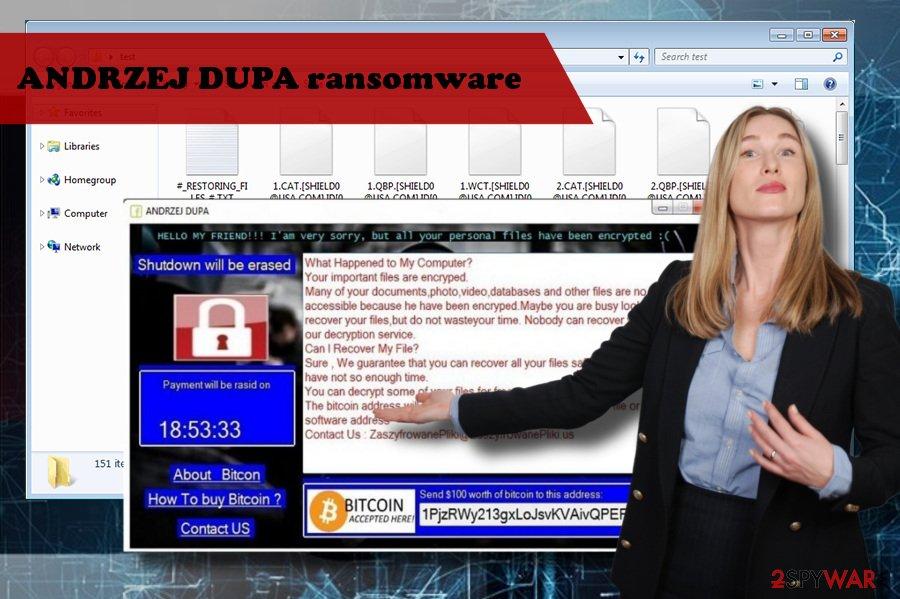 ANDRZEJ DUPA virus is a BansomQare Manna variant