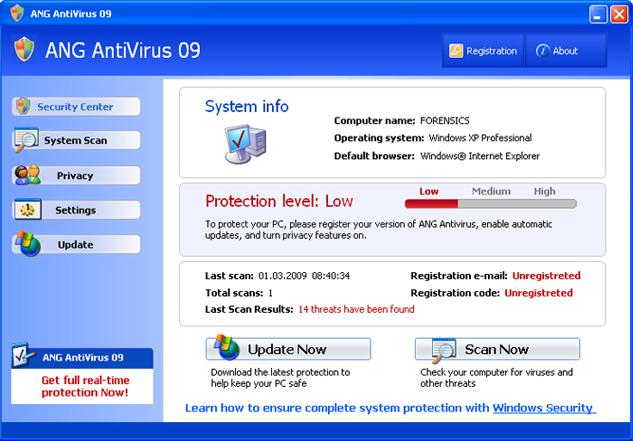 ANG AntiVirus 09