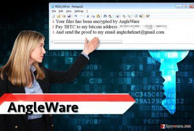 AngleWare ransomware virus