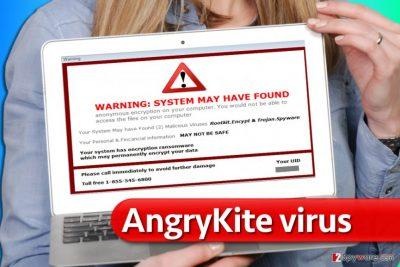AngryKite ransomware virus