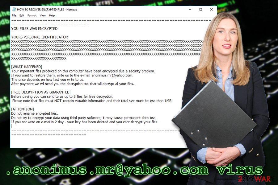 .anonimus.mr@yahoo.com ransomware