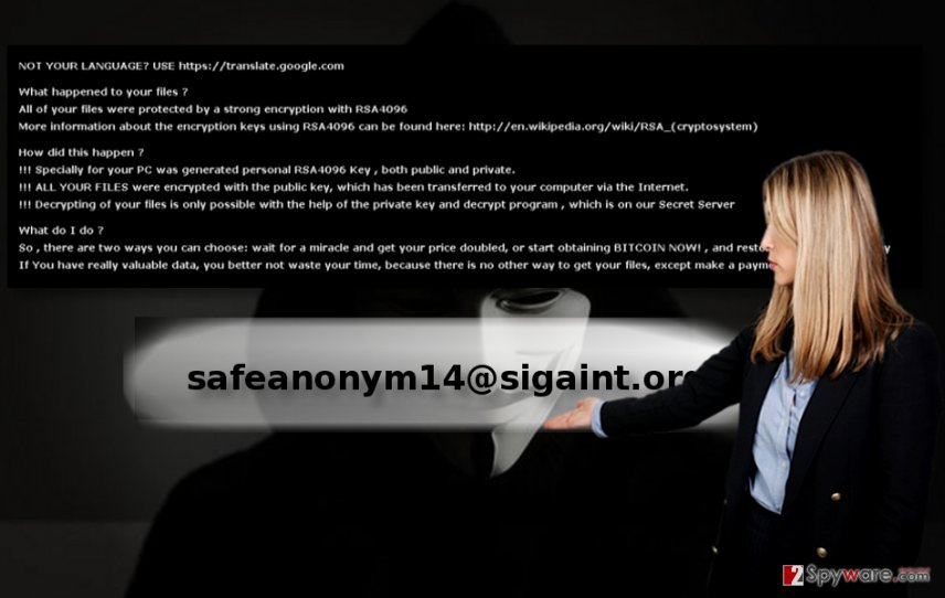 The picture illustrating safeanonym14@sigaint.org