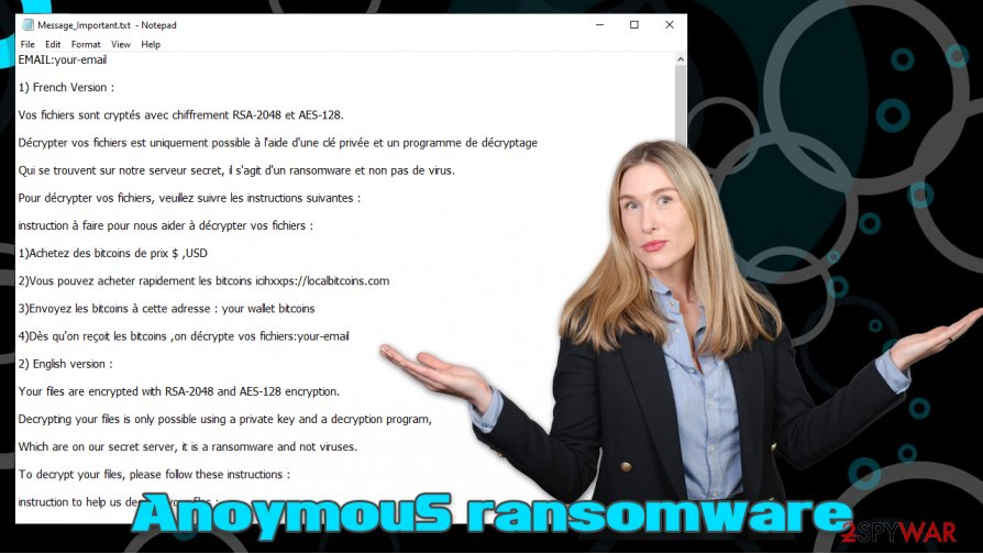 AnoymouS ransomware virus