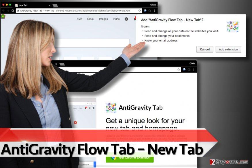 AntiGravity Flow Tab – New Tab