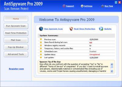 AntiSpyware Pro 2009