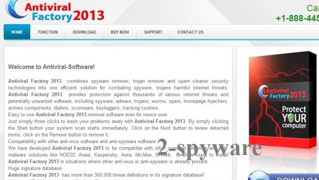 antiviral-factory.com snapshot
