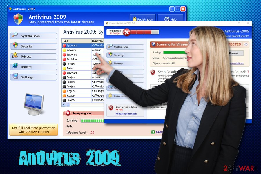 Antivirus 2009 malware