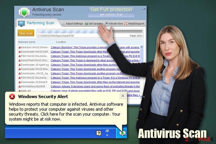 Antivirus Scan rogue