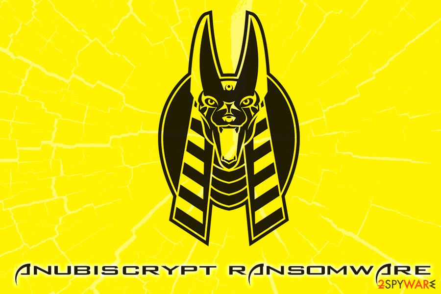 Anubiscrypt ransomware