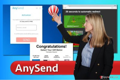 AnySend ads