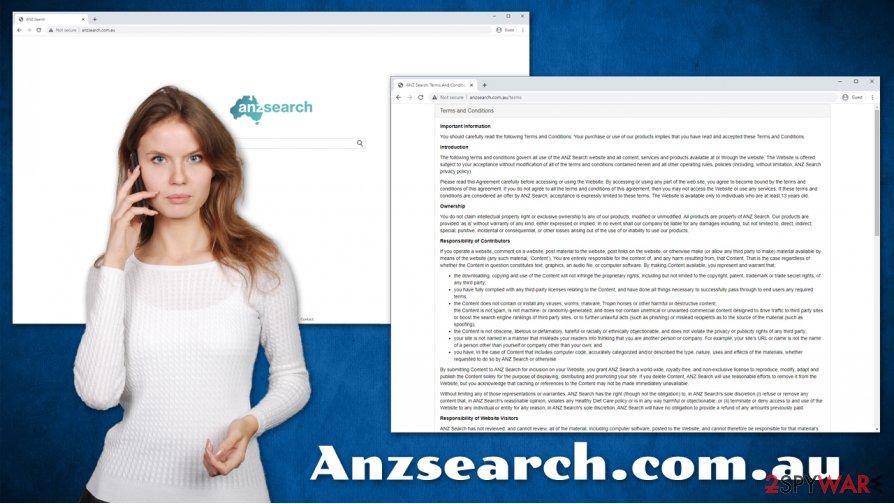 Anzsearch.com.au hijack