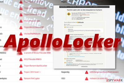 The image displaying ApolloLocker payment site