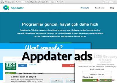 Appdater adware