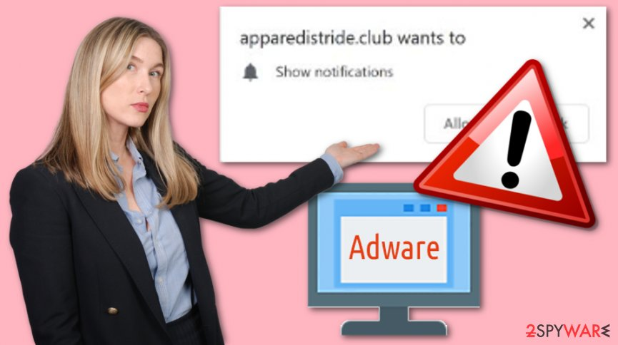 Apparedistride.club virus