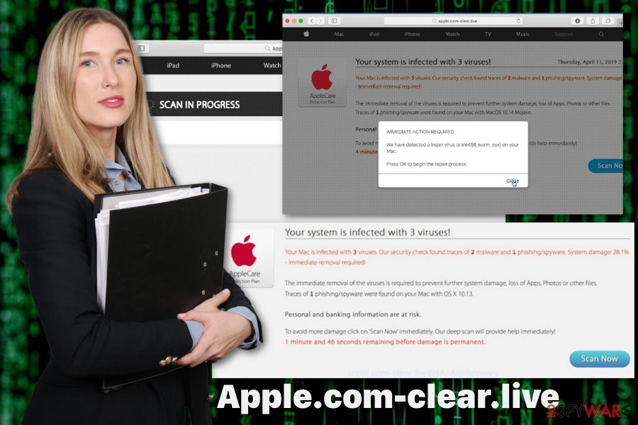 Apple.com-clear.live adware