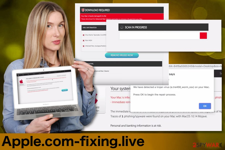Apple.com-fixing.live scareware