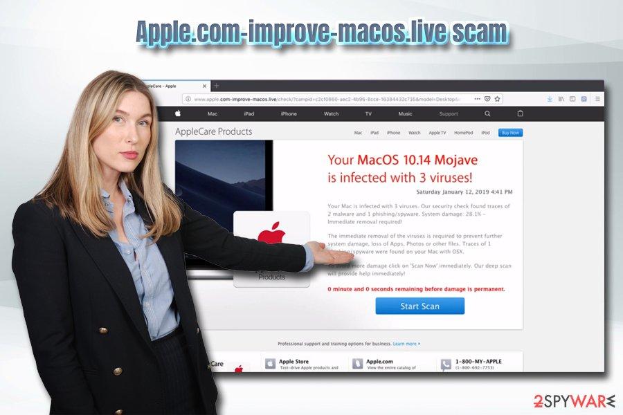Remove Apple com-improve-macos live (Virus Removal Guide