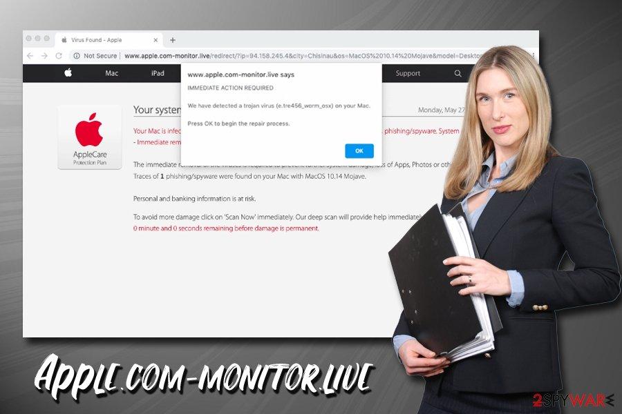 Apple.com-monitor.live adware
