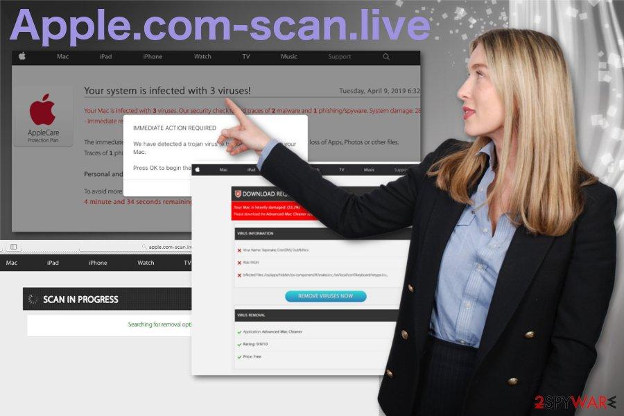 Apple.com-scan.live virus
