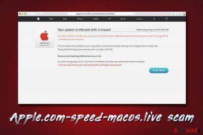 Apple.com-speed-macos.live scam