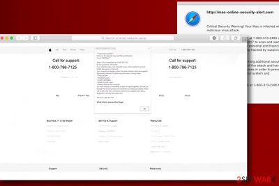 Apple Security Warning scam