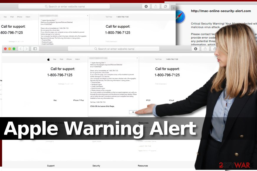 Apple Warning Alert virus