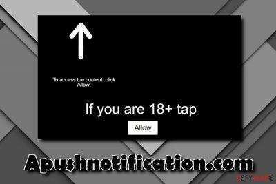 Apushnotification.com notification virus
