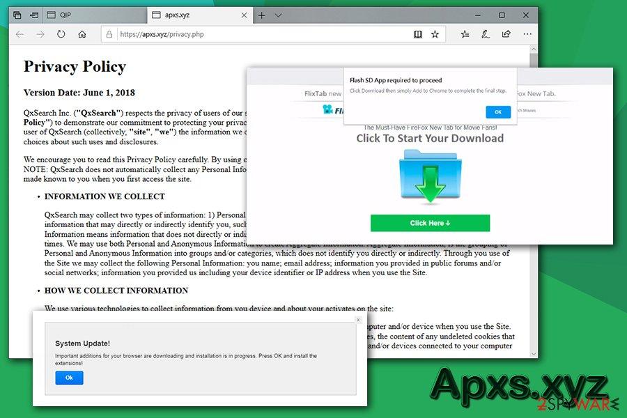 Apxs.xyz phishing