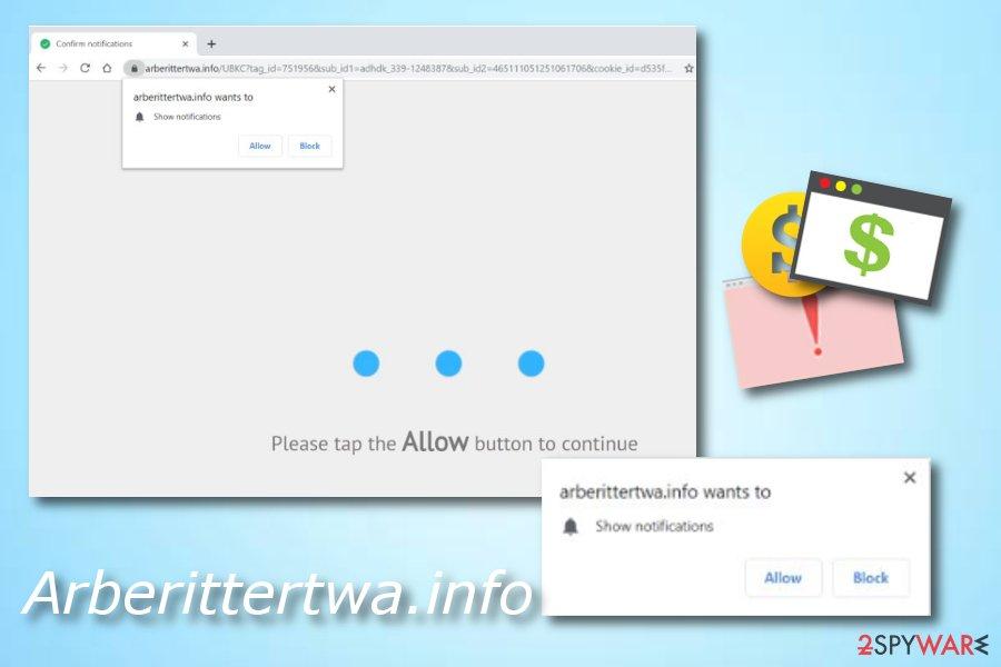 Arberittertwa.info adware