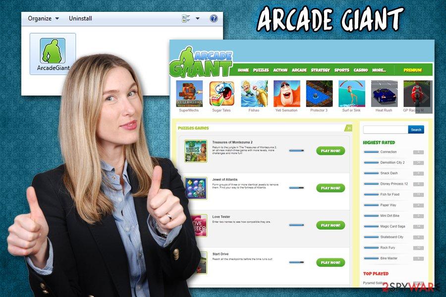 Arcade Giant virus