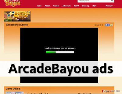 ArcadeBayou advertisements