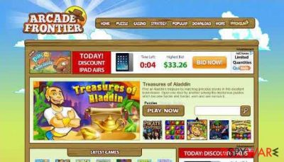 Arcade Frontier