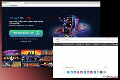 Image of ArcadeTab virus