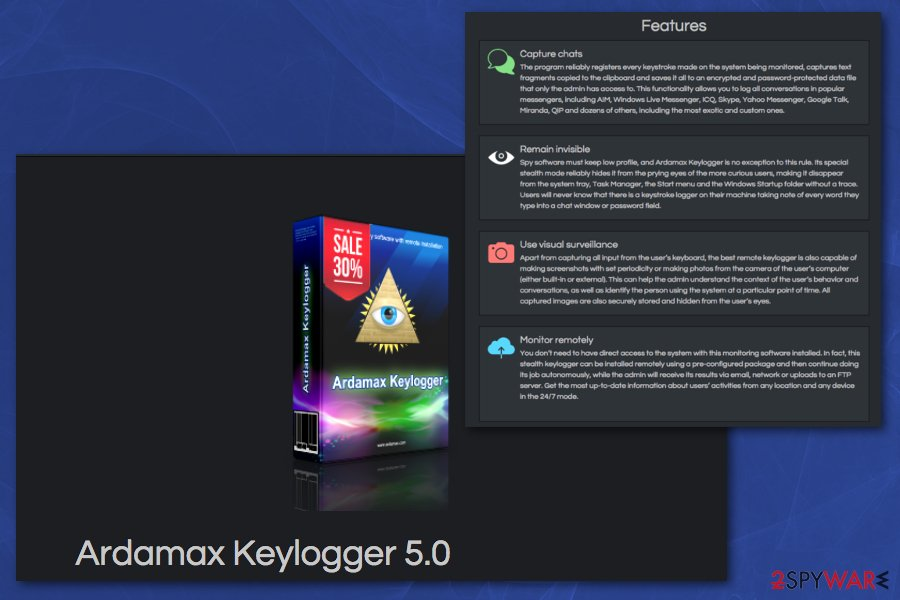 Remove Ardamax Keylogger (Free Instructions) - Dec 2018 update