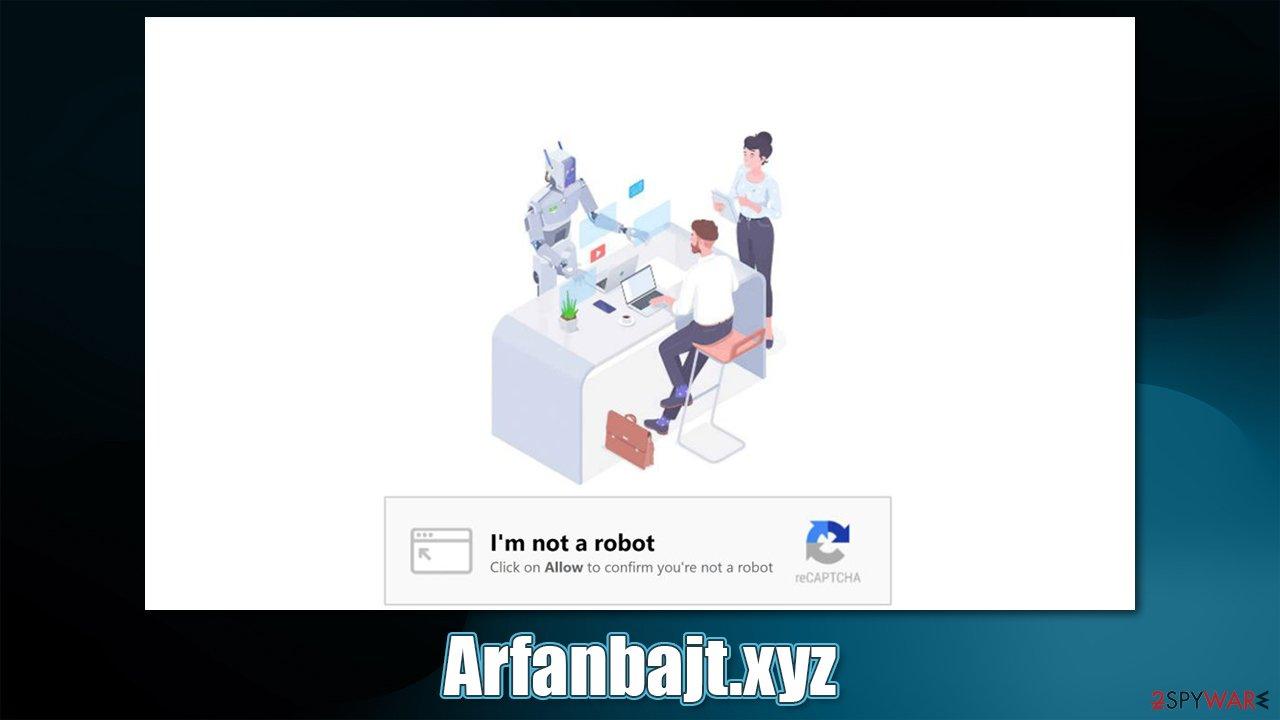 Arfanbajt.xyz ads