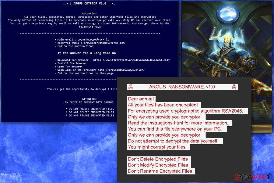 Argus ransomware