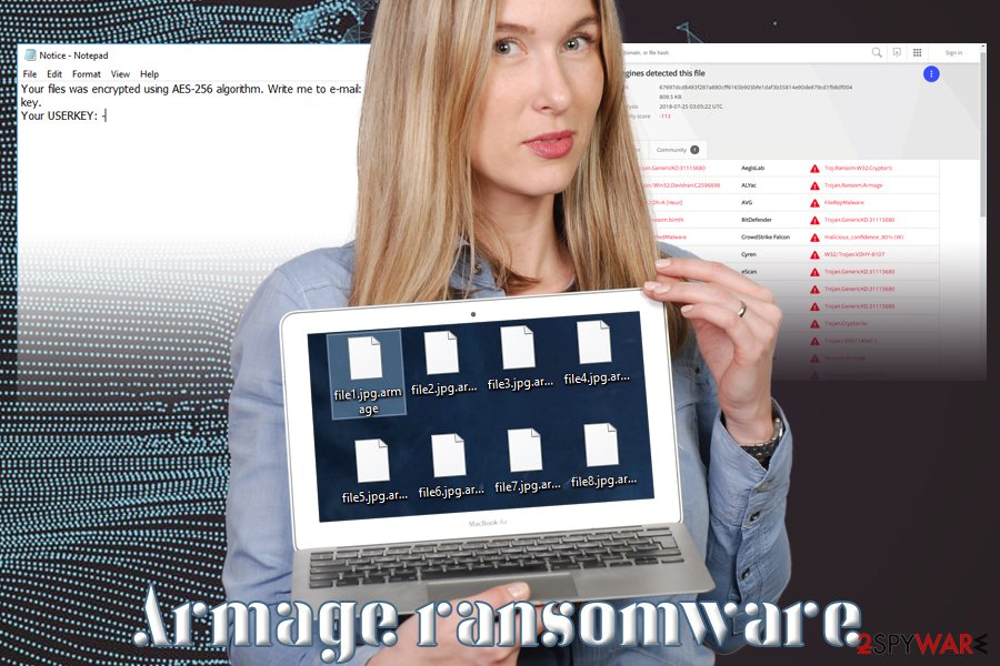 Armage crypto-virus