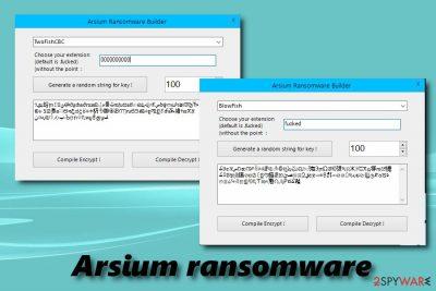 Arsium ransomware