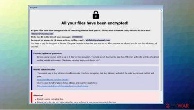 Artemis ransomware