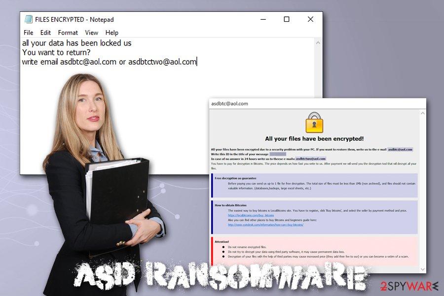 Asd ransomware virus
