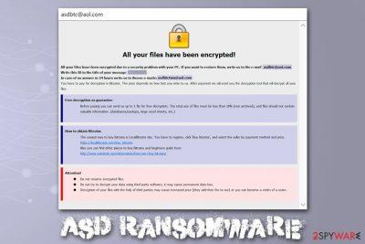 Asd ransomware