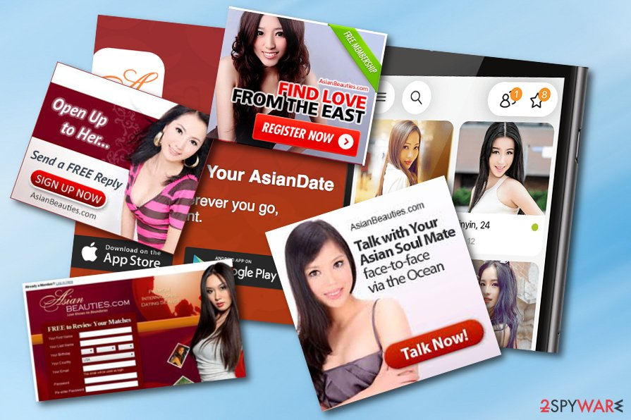 Asian Beauties adware