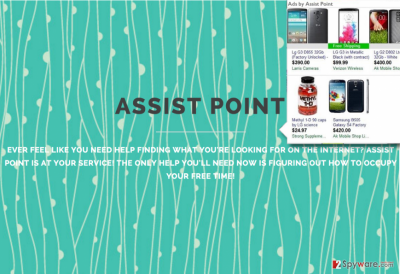 Assist Point adware website and Assist Point pop-ups