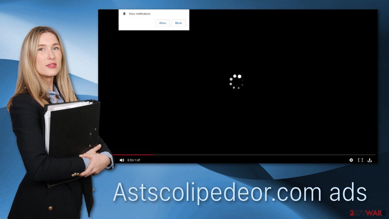 Astscolipedeor.com ads